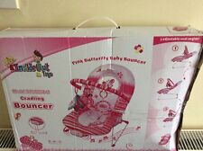 Pink Butterfly Baby Cradling Bouncer By Inside Out Toys, (see Description)