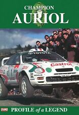 Champion Didier Auriol - Profile of a Legend (New DVD) WRC Rally Rallying