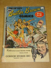 BUSTER BROWN COMIC BOOK #16 G- (1.8) BROWN SHOE COMICS SUMMER 1949