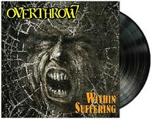 OVERTHROW - Within Suffering/Bodily Domination (NEW*LIM.150 DLP BLACK*CAN THRASH