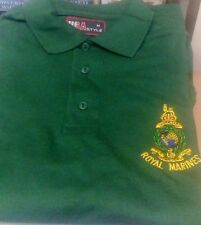 Royal Marines Polo Shirt - Size Extra Large