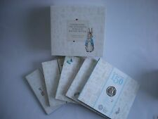Royal Mint 150th Anniversary of Beatrix Potter 2016 UK 50p Five Coin Boxed Set