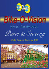 "Bike-O-Vision Cycling Video ""Paris & Giverny, France"" Widescreen"