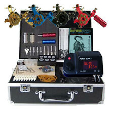 COMPLETE tattoo kits Professional 4 Machine tattooing body art supply