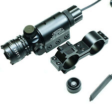 Red dot laser sight rifle gun scope with Rail Mounts + cap and Pressure switches