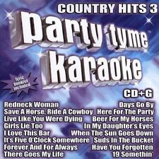 Party Tyme Karaoke: Country Hits 3 2005 by Party Tyme Karaoke