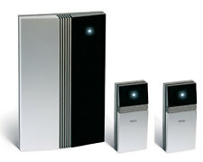Jacob Jensen 150m Doorchime Kit with 2 buttons (front door, back door).