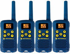 Lot of 4 BLUE Motorola TalkAbout MG160A FRS GMRS 2-WAY Radios Walkie Talkie AAA