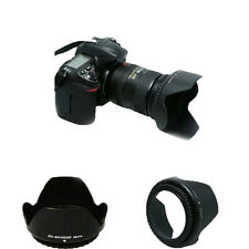 D3200 D5300 Camera Hood 52mm Bayonet for AF-S DX 18-55mm f/3.5-5.6G VR II
