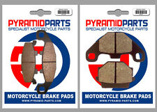 Kawasaki KLE500 91-04 Full Set Front & Rear Brake Pads (2 Pairs)