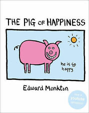 """The Pig of Happiness Edward Monkton """"AS NEW"""" Book"""