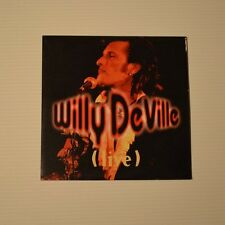 WILLY DEVILLE - Live - 1993 FRENCH CDSingle 4-TRACKS