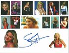 Beautiful Sunny signed wrestling 8x10 collage w/COA    WWE Hall of Fame