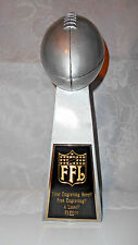 "FANTASY FOOTBALL 14"" LOMBARDI TROPHY 1 DAY SHIPPING!!! - FREE ENGRAVING!!"