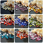 2000pc Nail Art Rhinestone Crystal Bead Gem Acrylic Flat Back Diamante 2/3/4/5mm