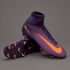 JUNIOR Nike Mercurial Superfly V FG CALCIO viola, arancione in modo Regno Unito 5.5 831943-585