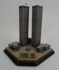 The Danbury Mint Twin Towers Commemorative  World Trade Center