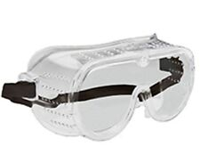 New Eye Protection Protective Lab Clear Goggles Glasses Vented Safety SUPER NICE