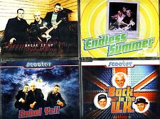 SCOOTER - Break/Endless Summer/Rebel Yell/Back In The U.K. - 4 Maxi-CDs