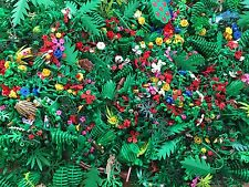 Lego Random Plant Vine Tree Bush Flower Leaf Lot 30 Units
