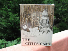 """Vintage 1970 """"The Cities Game"""" By Dynamic Designs Ind.~NOS~ Factory Sealed!"""