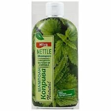 Milva Shampoo With 100% Natural Nettle Extract - Anti Dandruff 200 ml