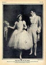 Marie Löhr & Mr.Prinsep beim Kostümfest im Covent Garden-Theater London 1912