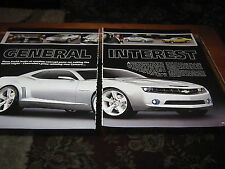 Chevrolet Camaro article mentions '69 Camaro & '04 Pontiac GTO
