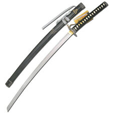 Movie KILL BILL Hattori Hanzo Katana DEVIL Samurai Steel Sword Tri-petal Leaf