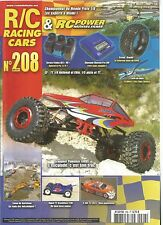 RC POWER MODELISME N°208 GRAUPNER PUNISHER 4WDS / HYPER TT BRUSHLESS T2M