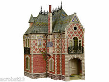 Victorian DOLL HOUSE #2 DIY Dollhouse Miniature Scale 1:12 Model Kit