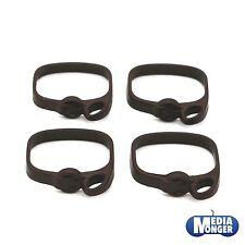 playmobil® Römer 4 x Legionärsgürtel | Gürtel mit Halterung links | dunkelbraun