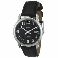 Timex T2N370 Men's Gents Easy Reader Leather Strap Quartz Analog Watch New