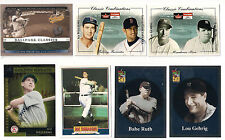 2001 TOPPS YANKEES BABE RUTH  BEFORE THERE WAS  INSERT CARD #BT2