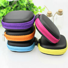 Mini Colorful Square Case Bag Pouch Storage Box for In-ear Headphones Headset HU
