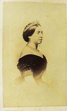 c1870 Victoria (Queen) Original-Photographie cdv