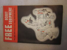 1957 Post Cereal and Heinz Products Free Scout Equipment catalog