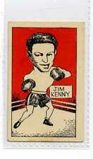 (Jw975-100) Cummings,Famous Fighters Swop Card,Jim Kenny,1949 #34