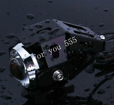 Weatherproof Motorcycle Black CREE U5 125W LED Fog SpotLight F Honda High Power