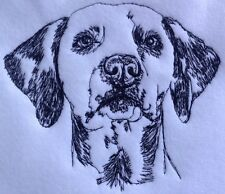 Completed Embroidery Dalmatian Dog 1