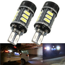 2X T15 912 921 W16W Super White 15-SMD 5050 LED Backup Lights 9W Reverse Bulbs