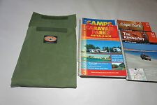 Map guide book bag. Australian made with Australian Canvas. For Camps 8 Hema