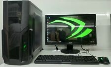 SUPER VELOCE Gaming Computer PC Intel QuadCore @ 2.50ghz 500gb 4gb RAM 2gb 710 HDMI