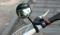 Cycling Bike Bicycle Handlebar Flexible Rear View Rearview Mirror Safety DS