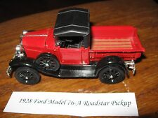 1928 Ford Model 76-A Roadster Pickup Red die cast toy collectible