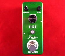 ROWIN LEF-311 MINI FUZZ GUITAR EFFECT PEDAL WITH TRUE BY-PASS