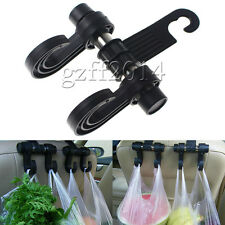 Universal Car Back Seat Headrest Hanger Holder Hooks For Bag Purse Cloth Grocery