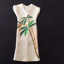 SINDY 1983 Printed Dress 44006 - Palm Tree - vintage dolls clothes p&p discounts
