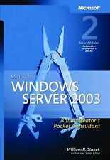 Windows Server 2003 Administrator's Pocket Consultant 2nd Edition, William R. St