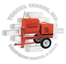 Crown 609918 8S-GH5 Gas Mortar Grout Plaster Mixer